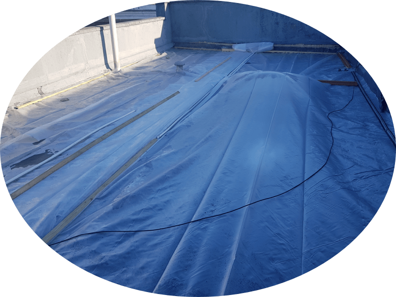 Flat Roof Emergency Temporary Cover in Essex & London