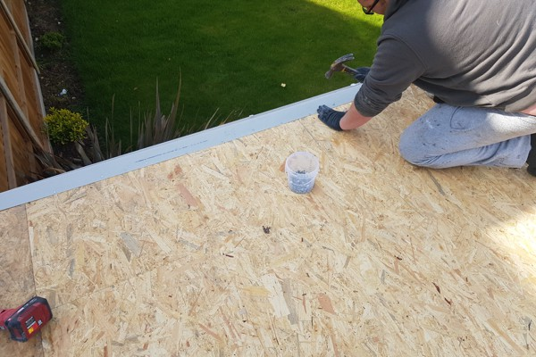 Flat Roof Process Essex - Edge Trims