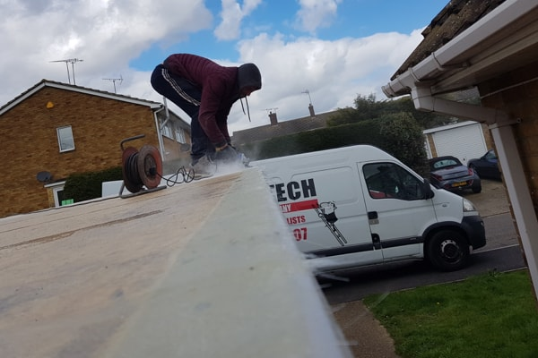 Flat Roof Process Essex - Sand & Smooth