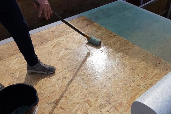Flat Roof Process Essex - Wet Deck