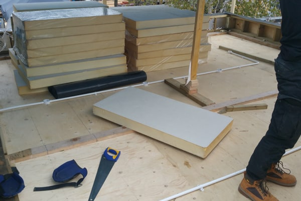 Roofing Insulation Flat Roof Essex